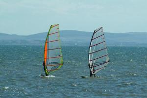 Wind Surfing In The North